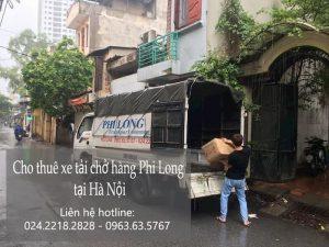 Dịch vụ taxi tải Phi Long tại đường Tây Mỗ