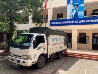 Dịch vụ taxi tải Phi Long tại chung cư Homeland