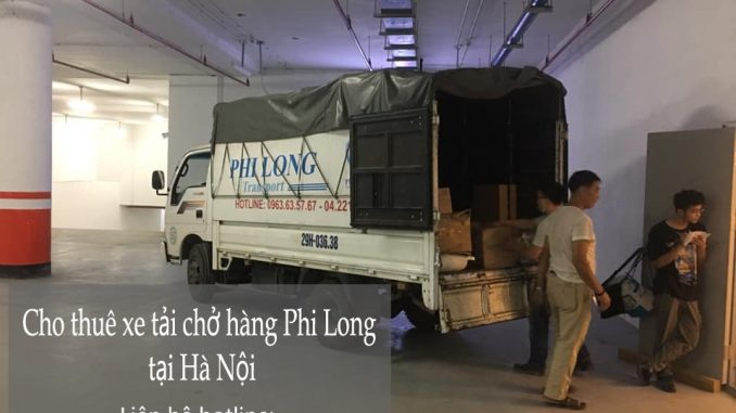 Dịch vụ xe tải uy tín Phi Long tại phố Trần Đại Nghĩa