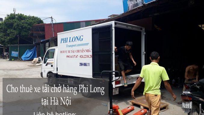 Dịch vụ taxi tải Phi Long tại đường đền lừ 2