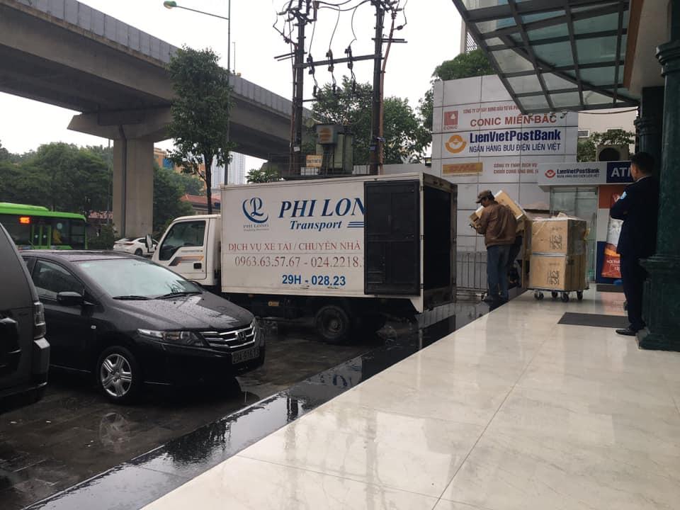 dịch vụ taxi tải tại đường hoàng cầu