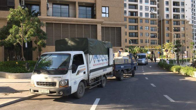dịch vụ taxi tải tại đường tô hiệu