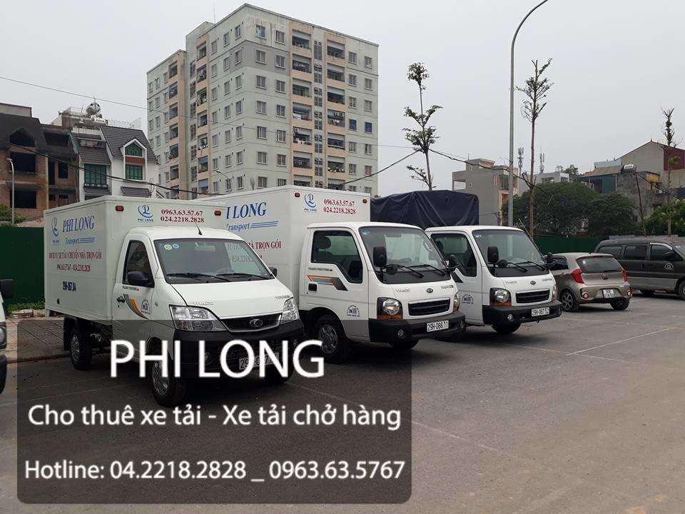dịch vụ taxi tải tại đường ngọc thụy