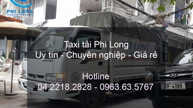 Dịch vụ taxi tải Phi Long đường Nhân Hòa