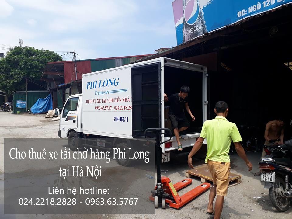 dịch vụ taxi tải tại đường phan đăng lưu