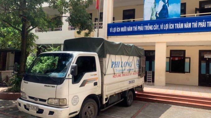Dịch vụ taxi tải Phi Long tại đường trần danh tuyên