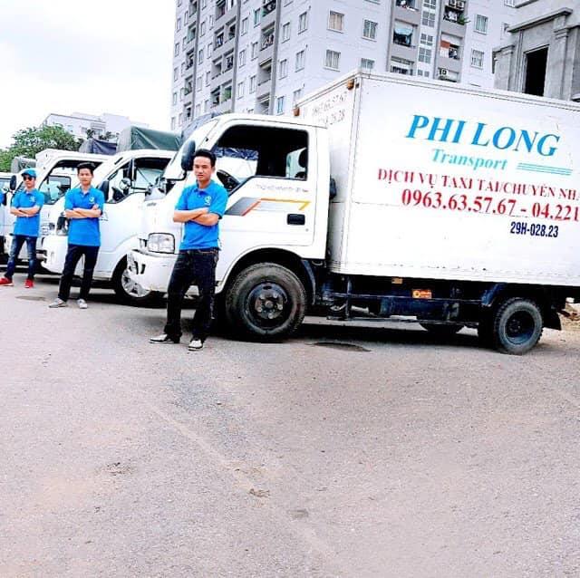 dịch vụ taxi tải Phi long tại đường hoàng minh đạo