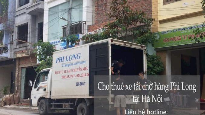 Dịch vụ taxi tải Phi Long tại phố Phan Văn Đáng