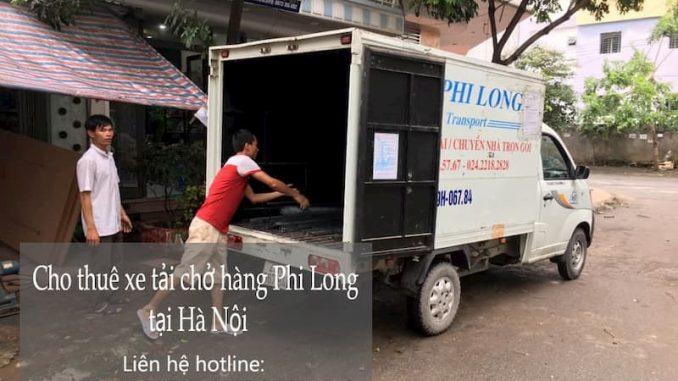 Dịch vụ taxi tải Phi Long phố Thép Mới