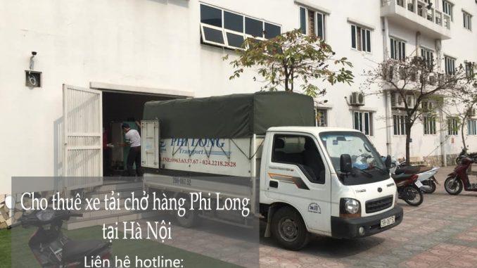 Dịch vụ taxi tải Phi Long tại đường Ngọc Thụy