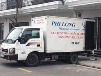 dịch vụ thuê xe tải 5 tạ tại hà nội tại đường lý đạo thành