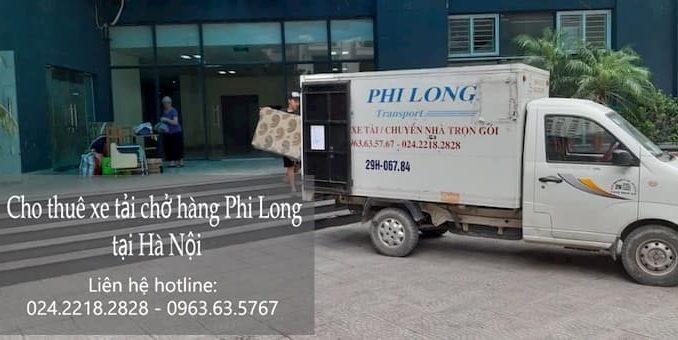 Xe tải chở hàng giá rẻ Phi Long phố Phùng Hưng