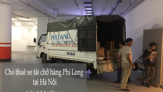 Dịch vụ xe tải Phi Long tại đường Đồng Dinh