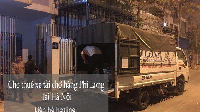 Dịch vụ taxi tải giá rẻ Phi Long tại phố Lương Văn Can