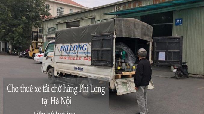 Dịch vụ taxi tải giá rẻ Phi Long tại phố Hoa Lâm