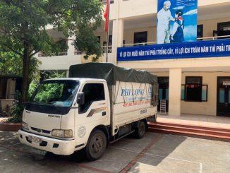 Thuê xe tải nhỏ chở hàng tại khu đô thị sài Đồng
