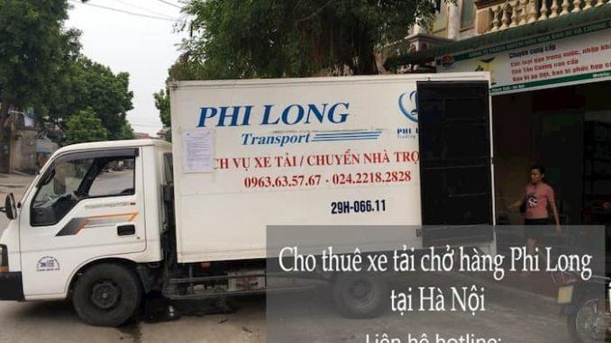 Thuê xe tải nhỏ chở hàngtại đường trần cung