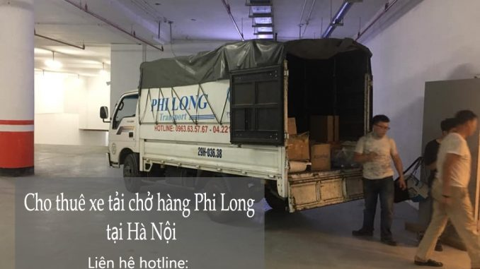 Thuê xe tải nhỏ chở hàng chuyên nghiệp tại Hà Nội