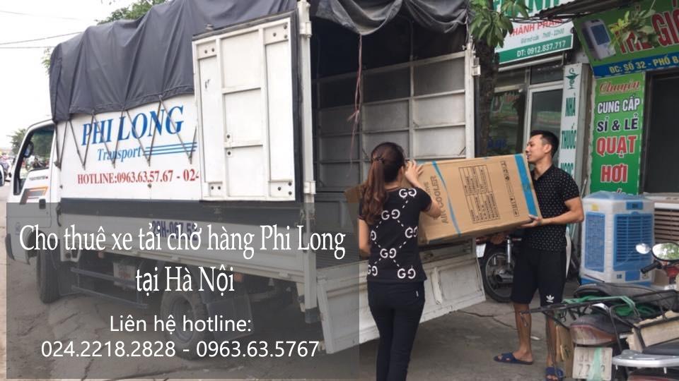 Thuê xe tải chở hàng để vận chuyển nhanh chóng.