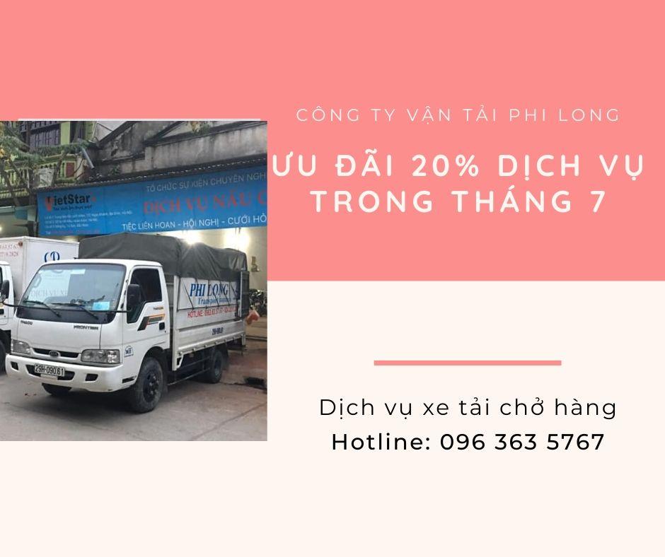 taxi tai chuyen nha Phi Long tại đường phạm ngũ lão