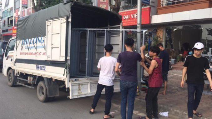 Dịch vụ taxi tải giá rẻ Phi Long tại đường Phạm Khắc Quảng
