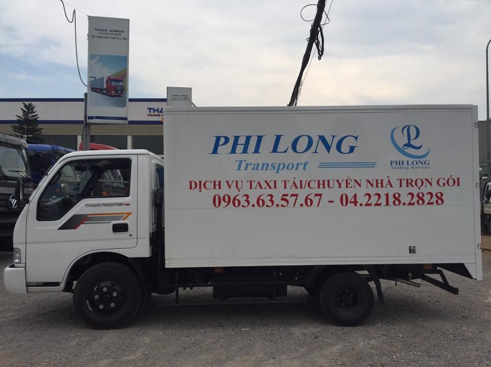Xe chở hàng từ phố Hàng Than đi Hải Dương