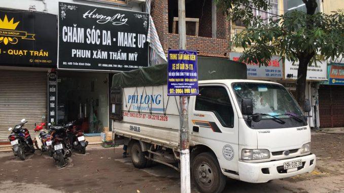 taxi tải chở hàng từ phố Hồng Phúc đi Hải Dương