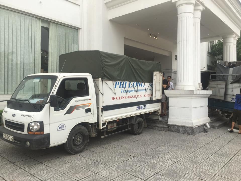 Thuê xe tải chở hàng tại chung cư Mipec Tower