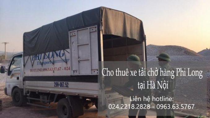 Phi Long taxi tải giá rẻ tại đường Thúy Lĩnh đi Hải Phòng