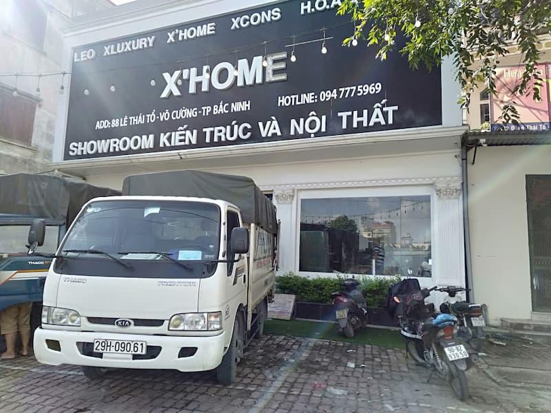 Xe tải chở hàng từ phố Nam Tràng đi Hải Dương