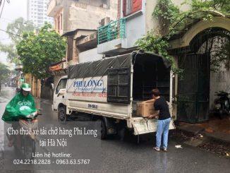 Xe tải chở thuê Phi Long tại quận Tây Hồ