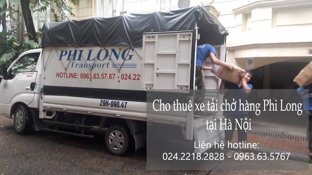 Phi Long cho thuê xe tải chở hàng giá rẻ tại huyện Đông Anh.
