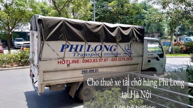Xe tải 500kg chuyển hàng từ phố Giang Văn Minh đi Hải Dương