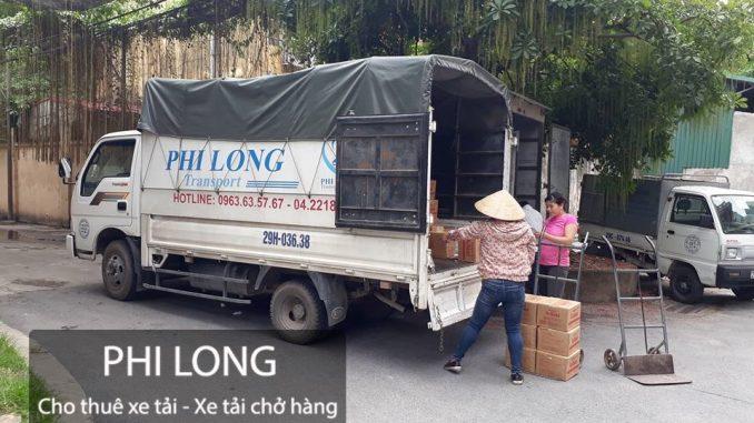 Dịch vụ taxi tải giá rẻ tại phố Tạ Quang Bửu