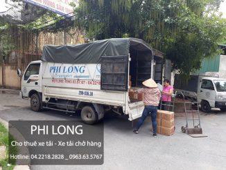 Phi Long taxi tải giá rẻ tại phố Tương Mai