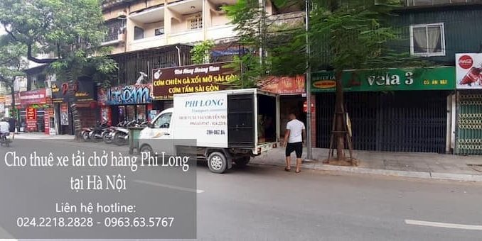 Dịch vụ taxi tải phố Lê Thạch đi Hòa Bình