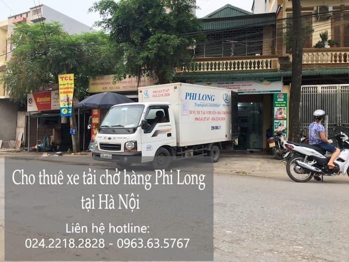 Cho thuê xe tải phố Hàng Bún đi Hòa Bình