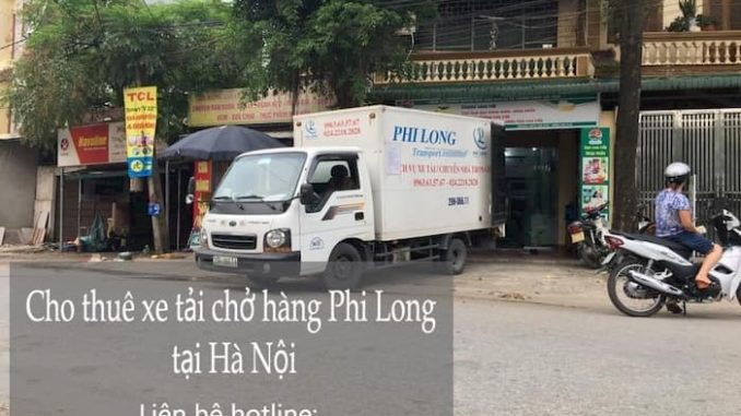Dịch vụ cho thuê xe tải phố Hàng Chai đi Hòa Bình