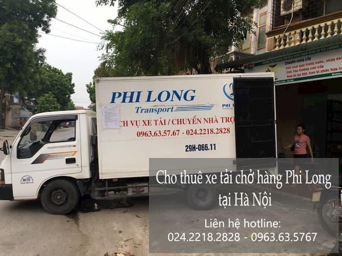dịch vụ chở hàng Phi Long tại phố Nguyễn Huy Tự