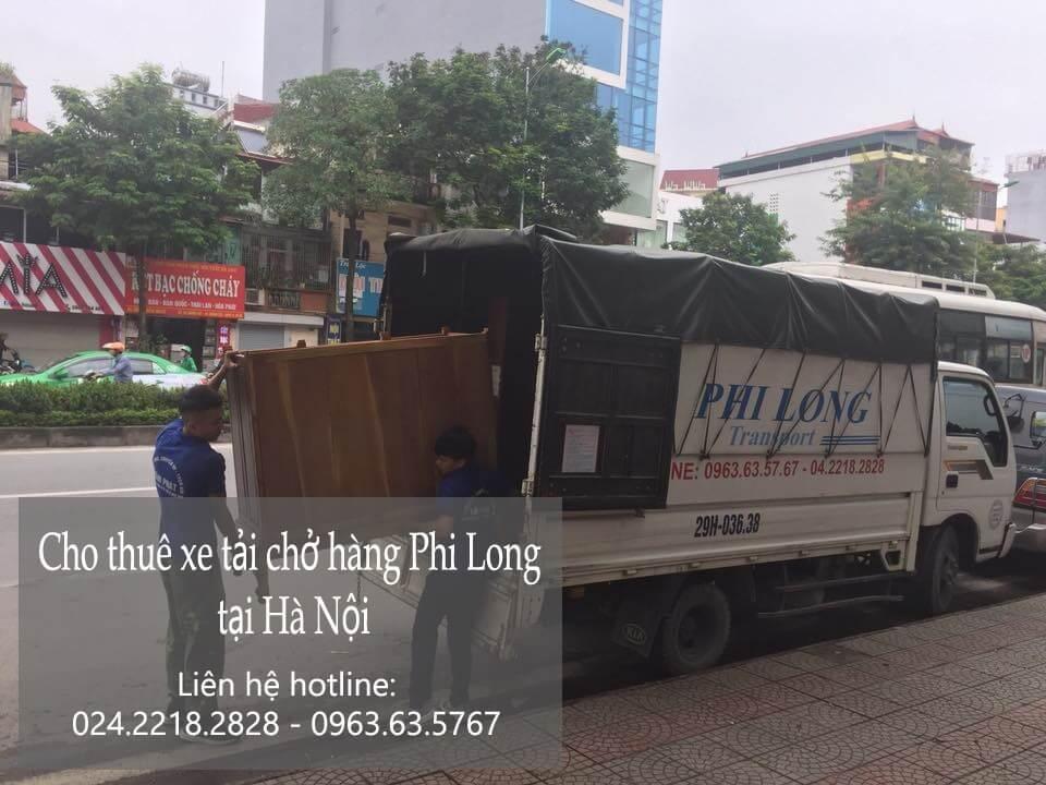Dịch vụ cho thuê xe tải phố Hàng Gai đi Hòa Bình