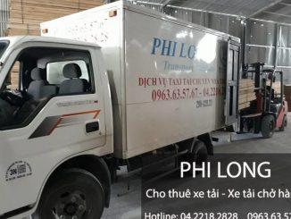 Cho thuê xe tải tại phố Ngọc Trì đi Hà Nam