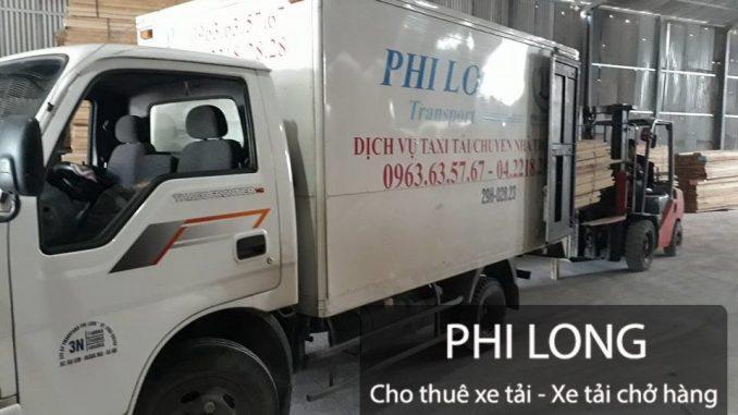 dịch vụ chở hàng chuyên nghiệp Phi Long tại phố Mạc Thị Bưởi