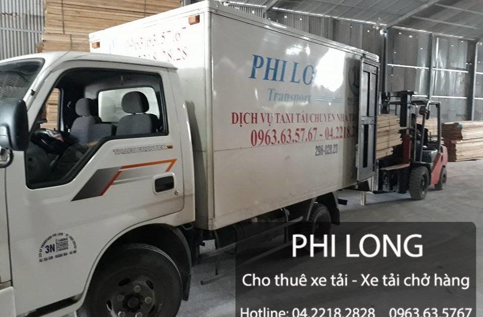 Cho thuê xe tải Phi Long tại đường Nguyễn Quốc Trị