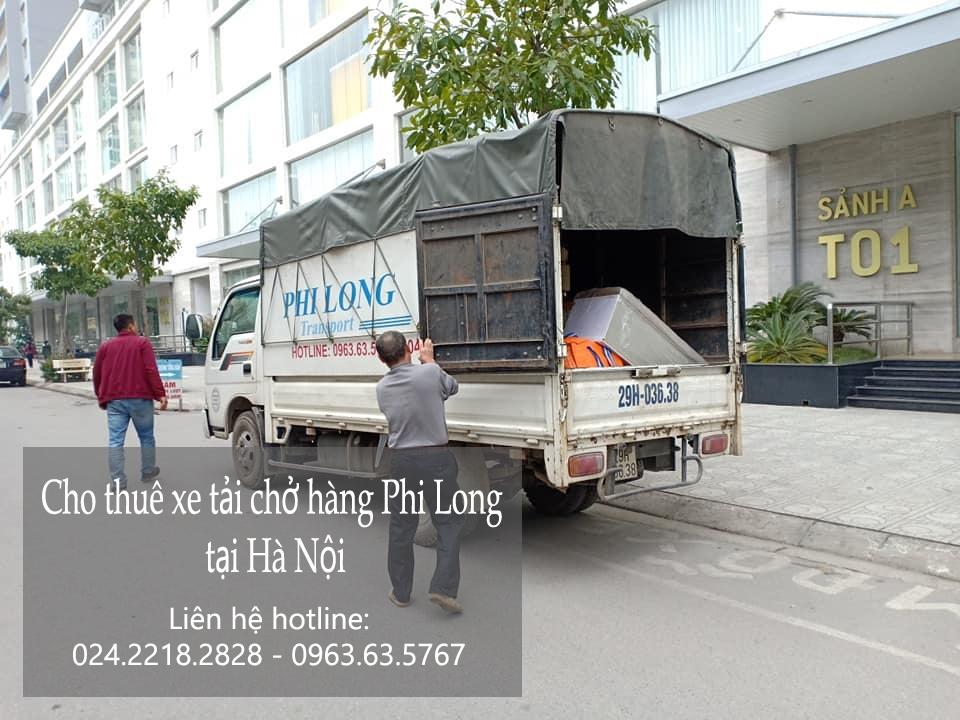 Cho thuê xe tải giá rẻ phố Ấu Triệu đi Hòa Bình