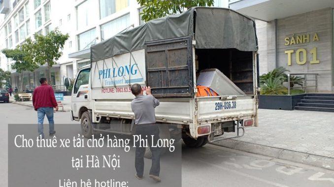cho thuê xe tải chở hàng tại quận Hoàng Mai sang Long Biên