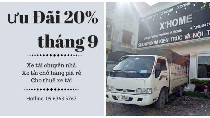 Dịch vụ cho thuê xe tải phố Hàng Hòm đi Hòa Bình