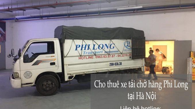 Cho thuê xe tải giá rẻ phố Hàng Tre đi Hòa Bình
