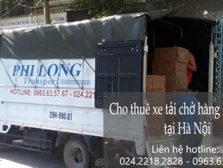 Dịch vụ cho thuê xe tải tại phố Kẻ Tạnh đi Ninh Nình