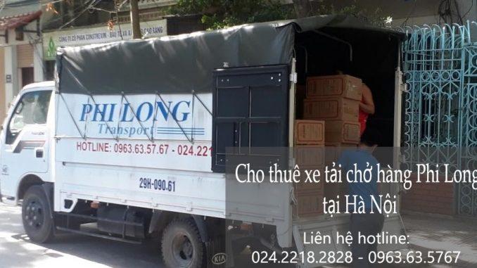 Dịch vụ thuê xe tải tại đường Lĩnh Nam đi Hải Phòng