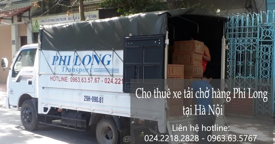 Dịch vụ cho thuê xe tải Phi Long tại phố Khúc Thừa Dụ